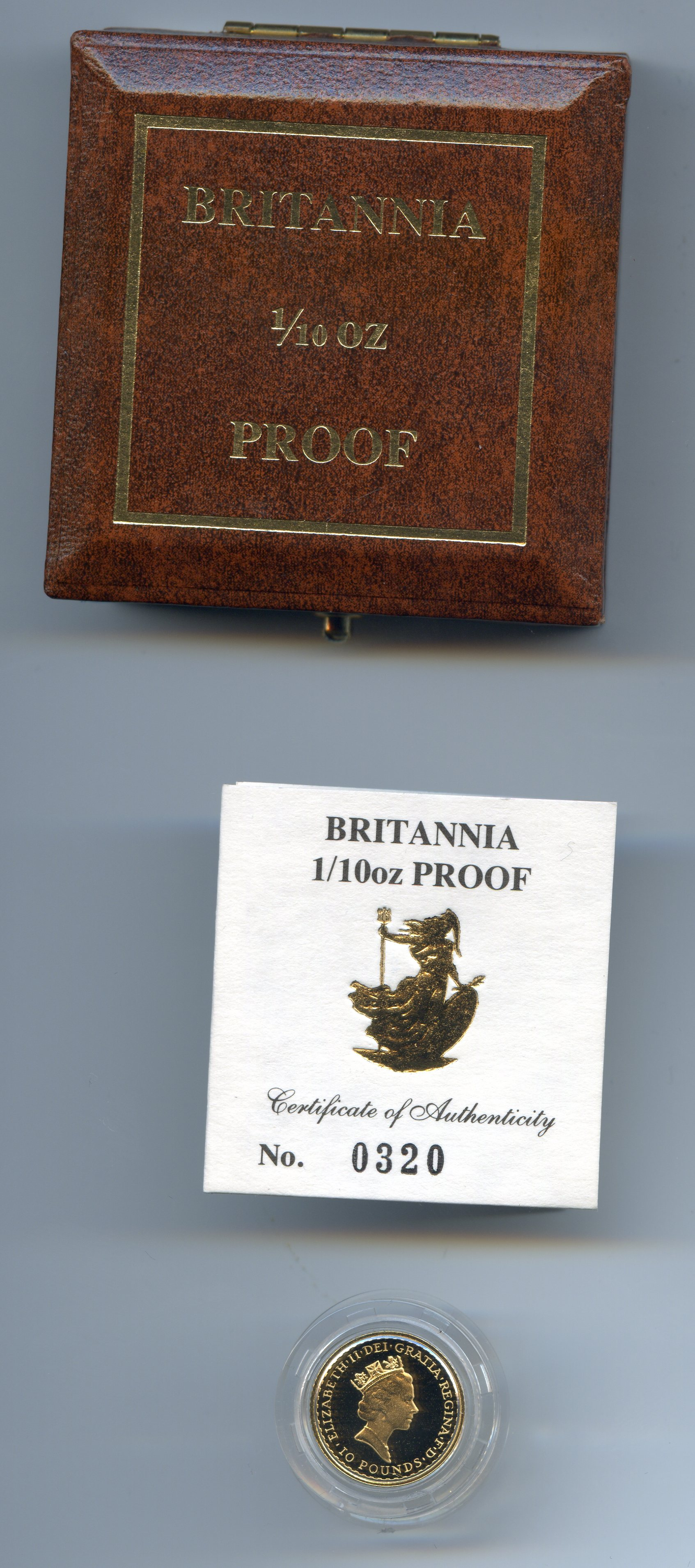 1990 tenth britt obv