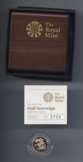 2010 proof half sov rev