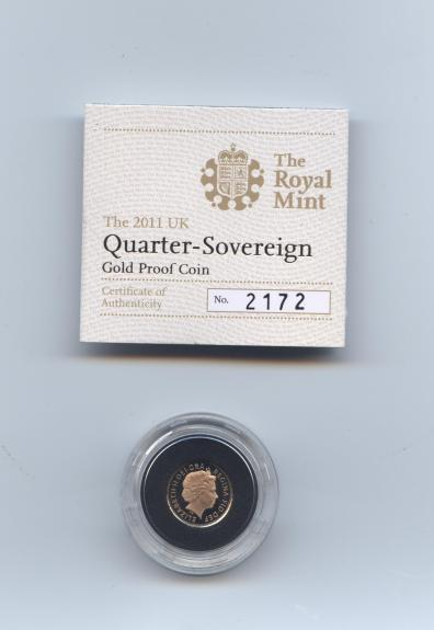 2011 quarter sov proof obv