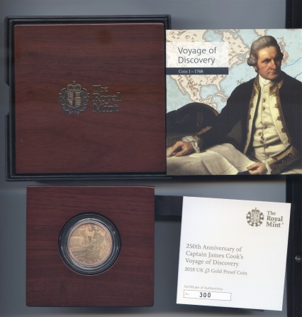 2018 Gold proof two pound cook rev