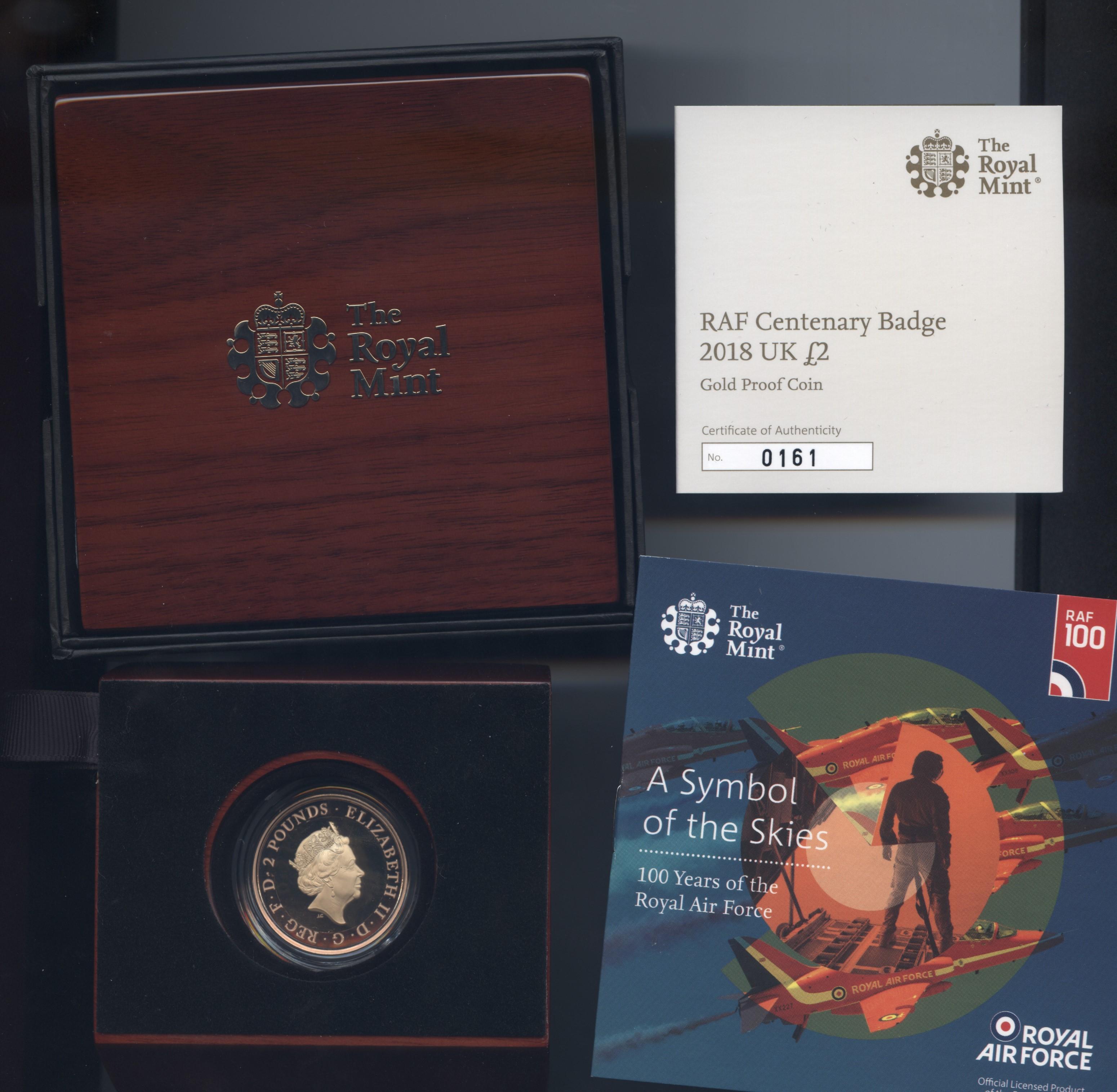 2018 raf badge obv
