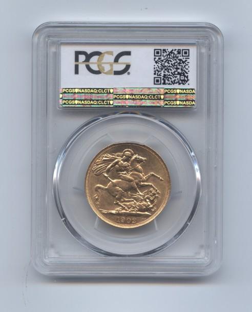 1902 two pound ms62 rev
