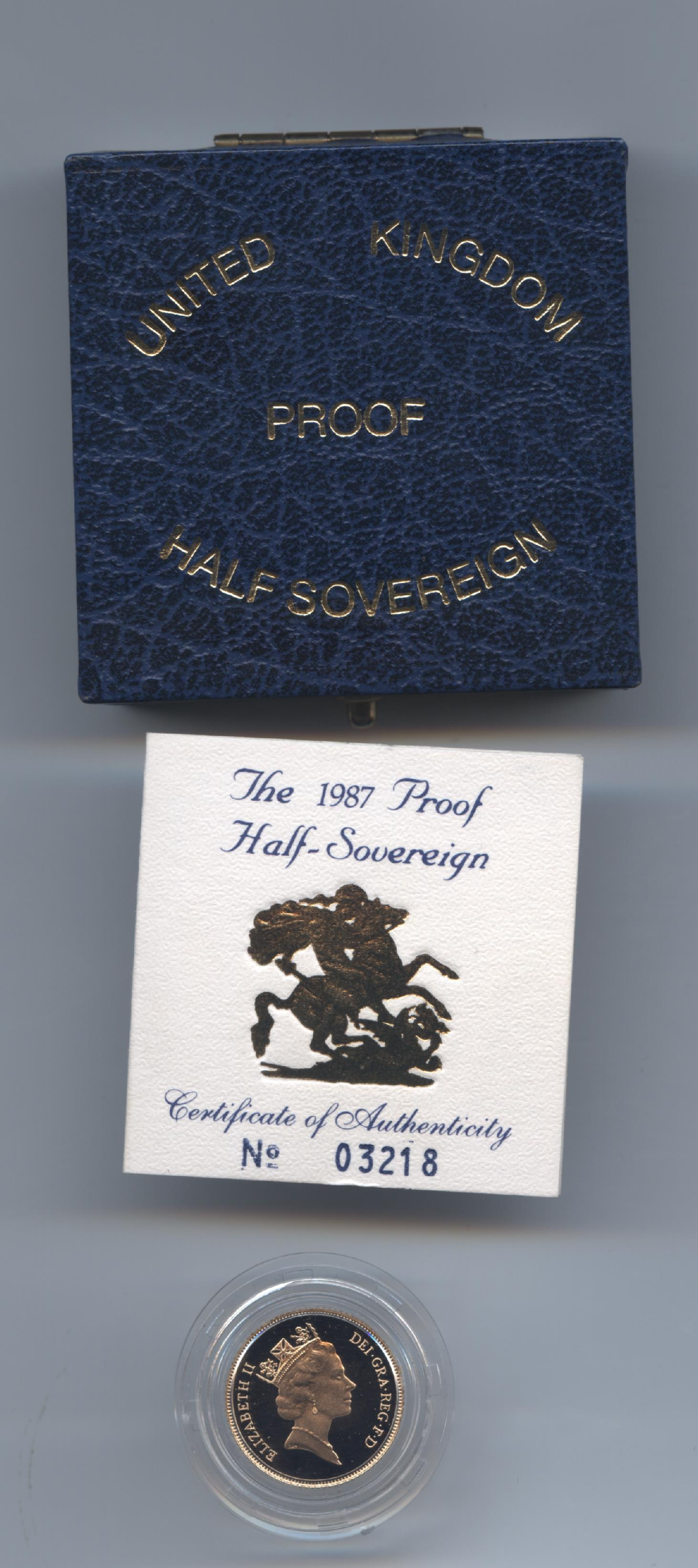 1987 half sov obv
